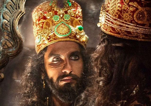 Ranveer Singh as Khilji in <i>Padmaavat</i>.