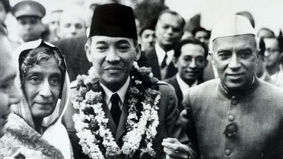 First President of Indonesia, Sukarno, was the first chief guest to witness the Indian Republic Day in 1950.