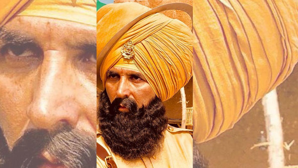 Akshay Kumar's look in <i>Kesari</i>.&nbsp;