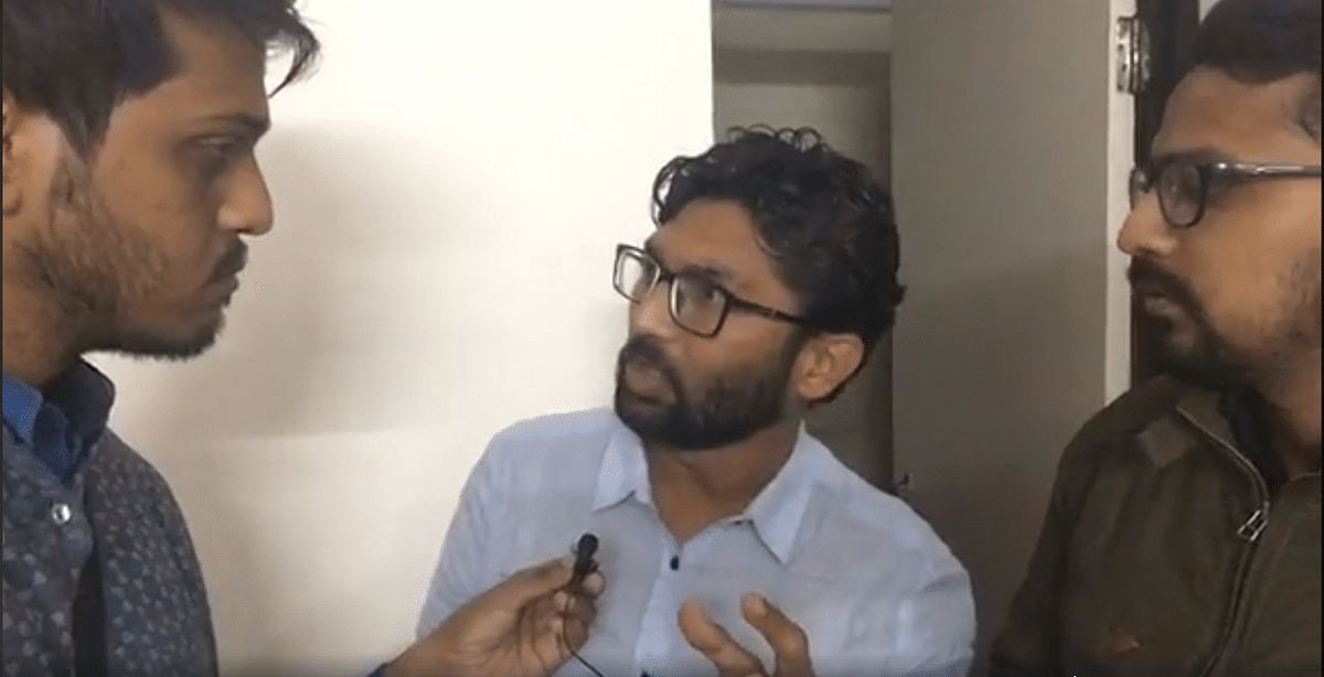 Threat to My Life From BJP Forces: Jignesh Mevani to The Quint