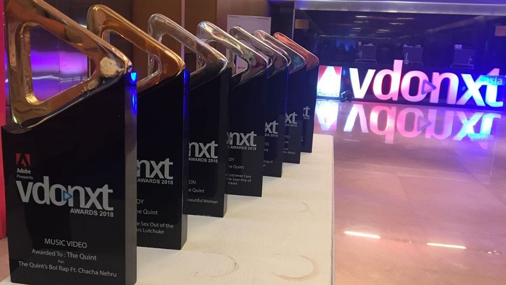 The Quint wins BIG at the Vdonxt Awards 2018.
