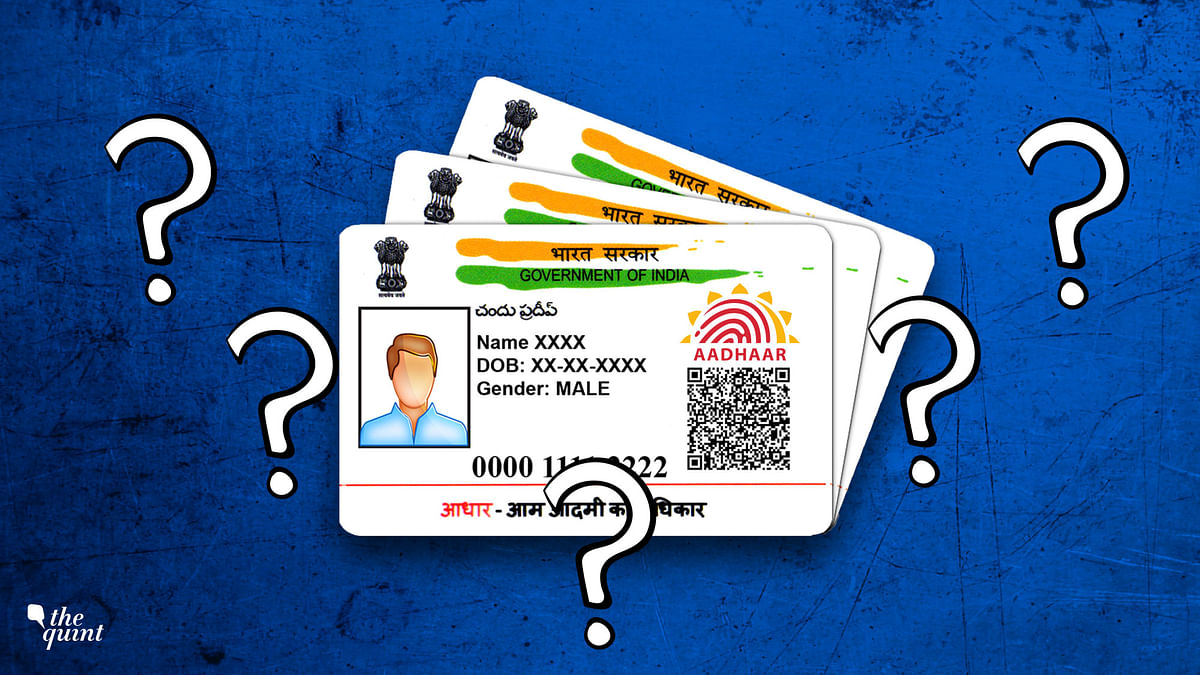 The Gazette Of India and The Aadhaar Paradox