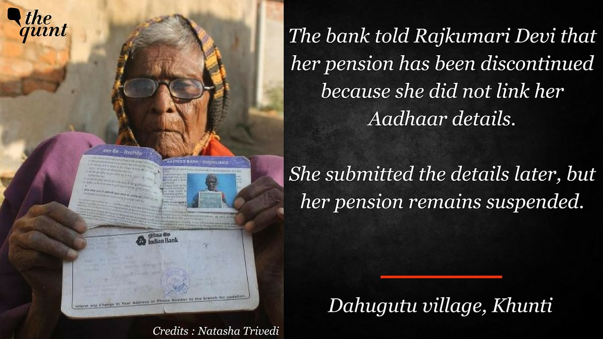Excluded by Aadhaar: The Poor Who Are Denied Rations and Pensions
