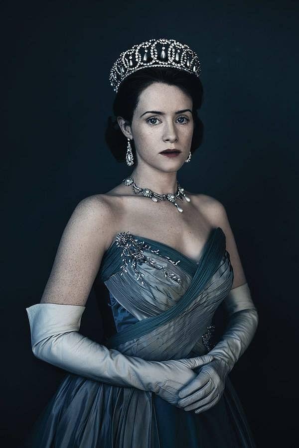 Screenshot from Netflix's popular series The Crown.