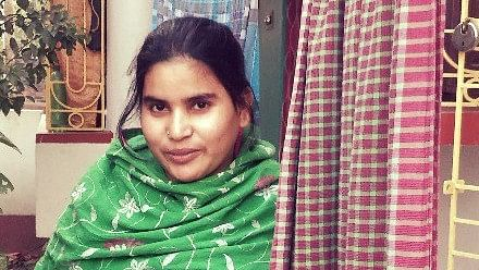Eighteen-year-old Morjina Bibi, though initially shy, opened up to us.