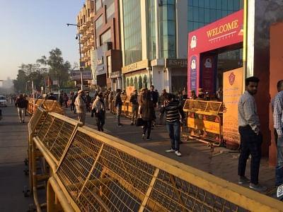 Jaipur: Police deployed at Jaipur Literature Festival in the wake of protests by Karni Sena against Sanjay Leela Bhansali