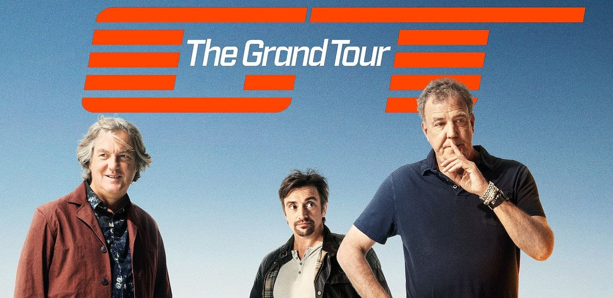 A poster of <i>The Grand Tour.</i>