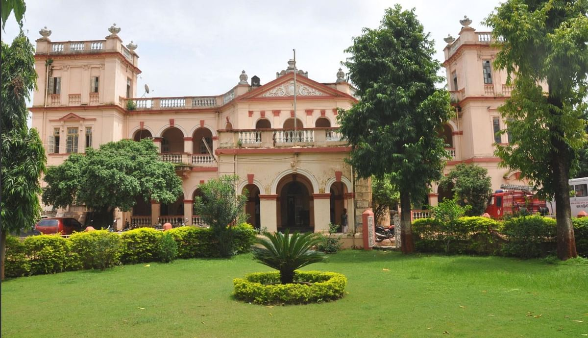 The entrance to 15-acre Rajvant Palace.