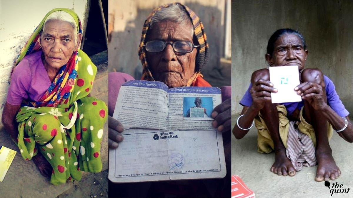What do Dukhni Devi (left), Rajkumari Devi (centre) and Olasi Hansda have in common? Aadhaar woes.