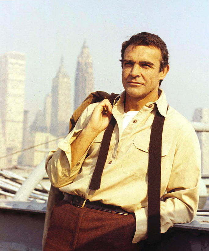 Connery was charismatic before Bond.