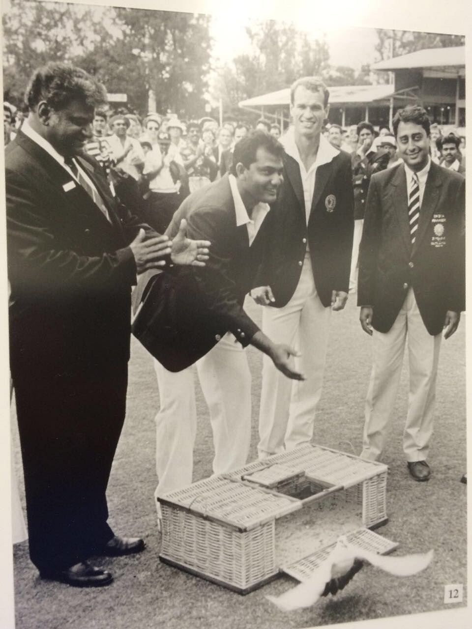 India became the first country to tour South Africa post apartheid. Mohammad Azharuddin led the Indian team on a tour that was historic and unique.