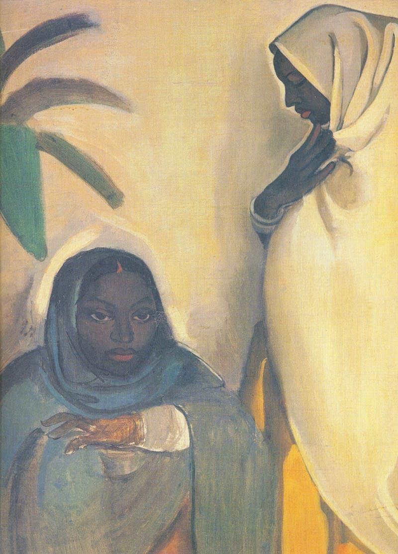 Amrita Sher-Gil's 'Two Women'.