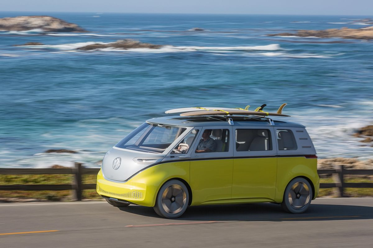 The I.D. Buzz from Volkswagen in its new avatar.