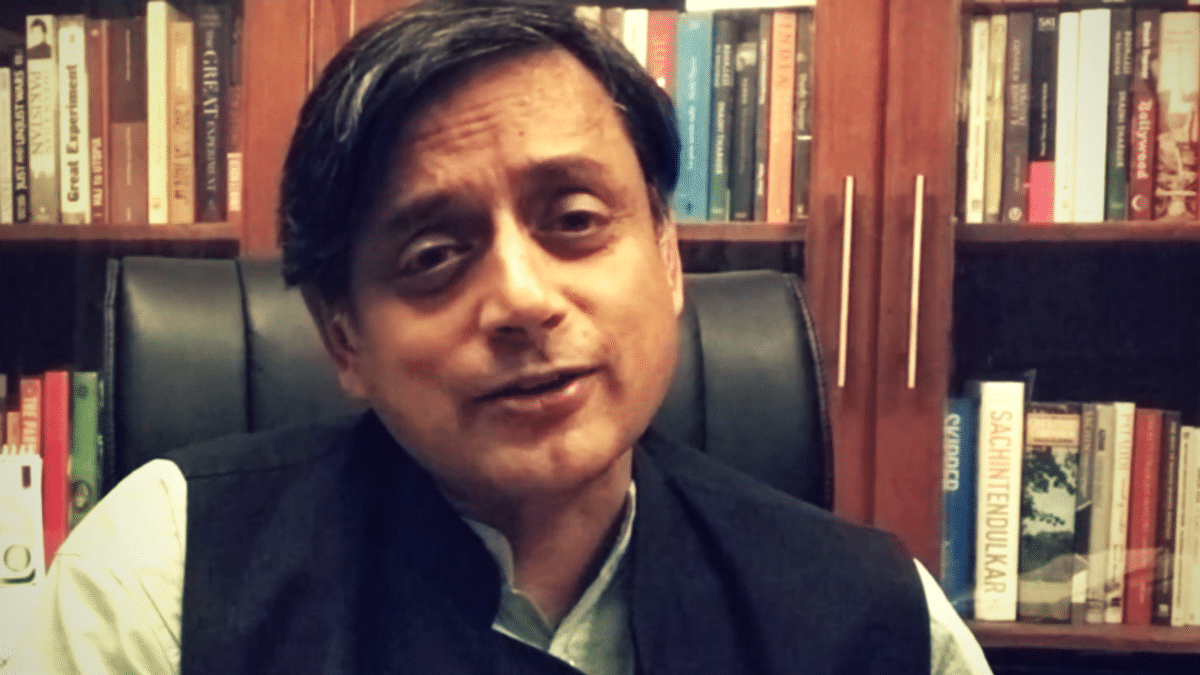 The next day, Tharoor clarified that it was a typo.