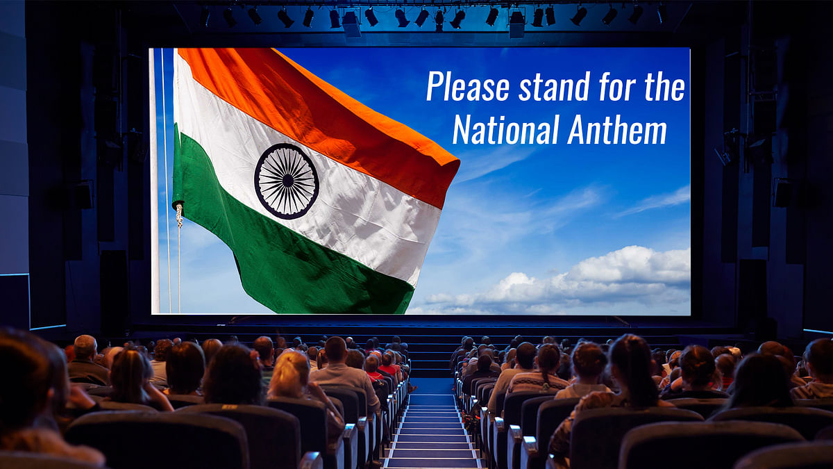 The Supreme Court reviews the previous order that made it compulsory for cinema-goers to stand for the national anthem in theatres.
