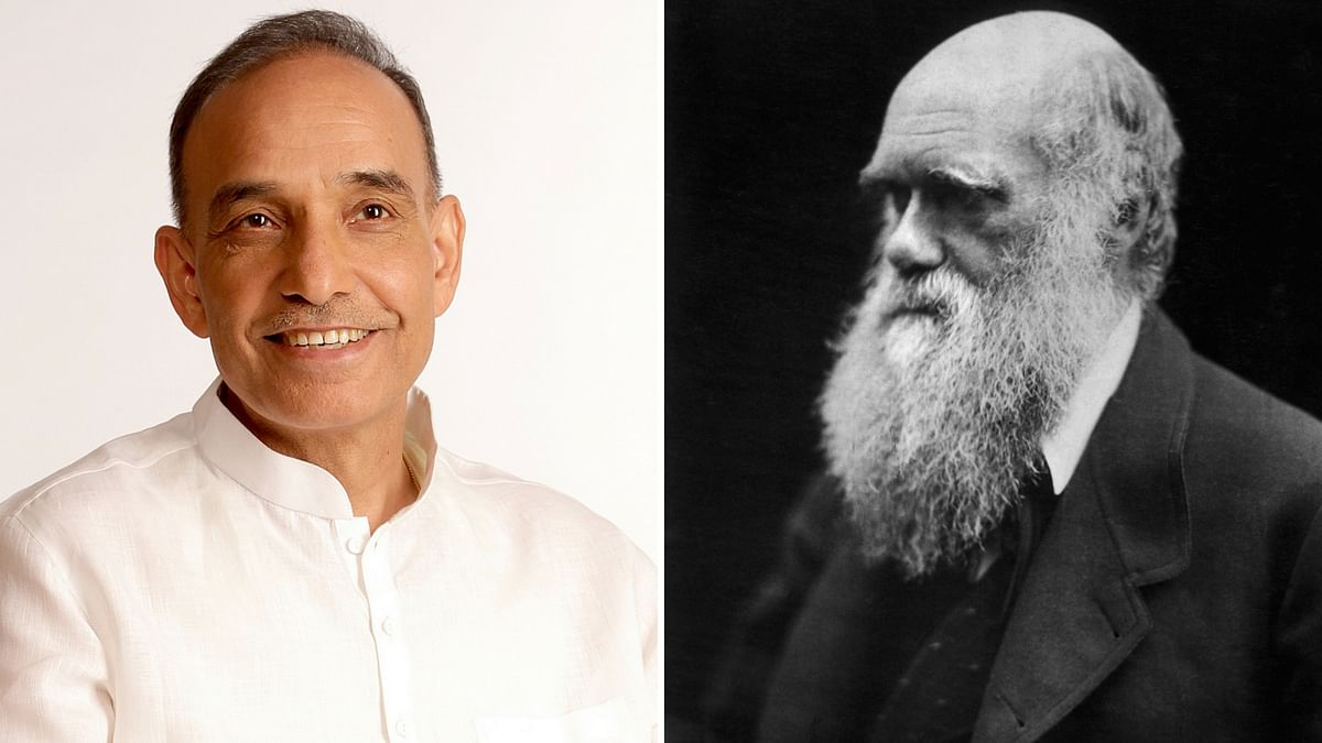 "Union minister Satyapal Singh has claimed that Charles Darwin's theory of evolution of man was ""scientifically wrong."""