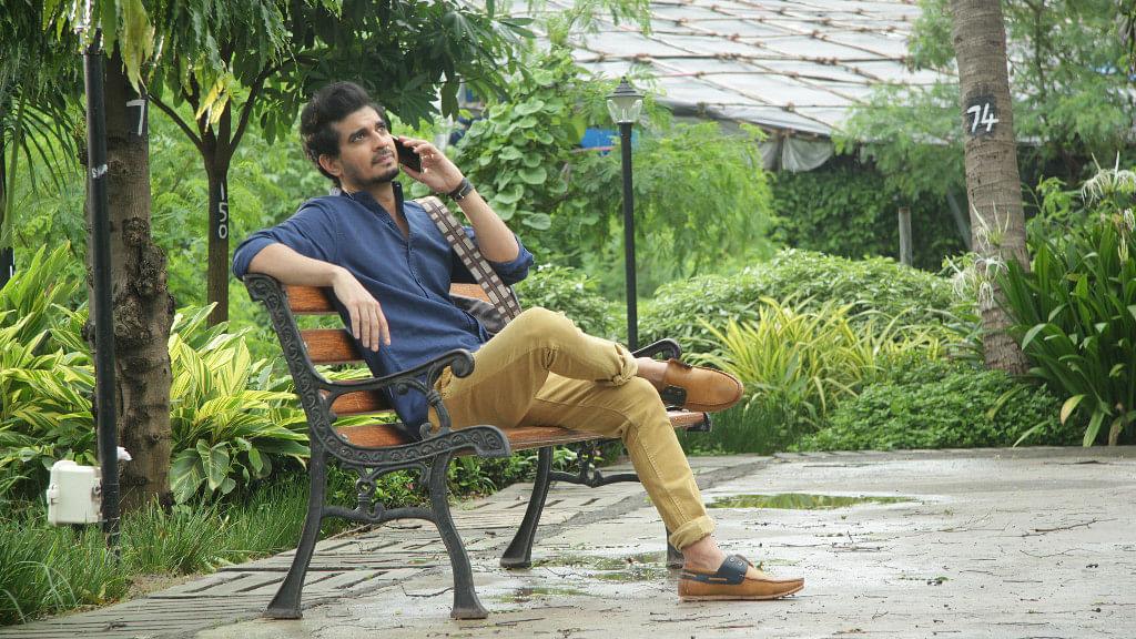 Tahir Raj Bhasin manages to make up for what  Sarah Jane Dias lacks.