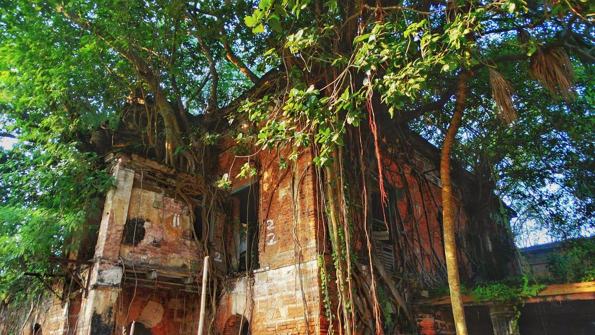 The Danish ruins of Serampore.