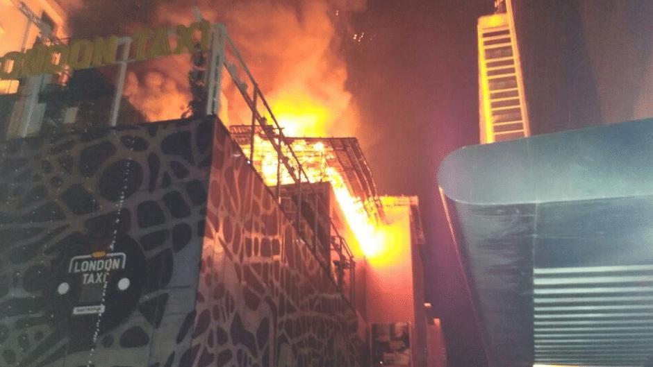 A massive fire broke out in Kamala Mills on 28 December 2017.