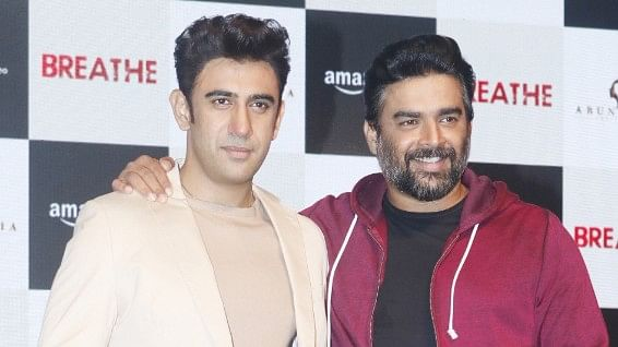 Amit Sadh and R Madhavan star in the Amazon web-series, 'Breathe'.