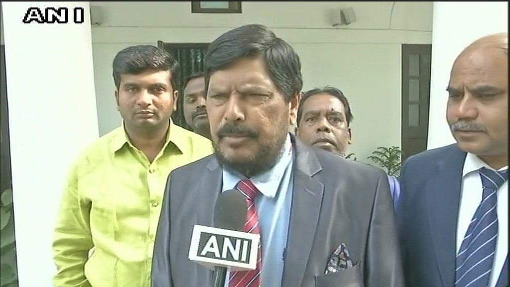 Mevani Didn't Instigate Bhima Koregaon Violence: NDA MP Athawale