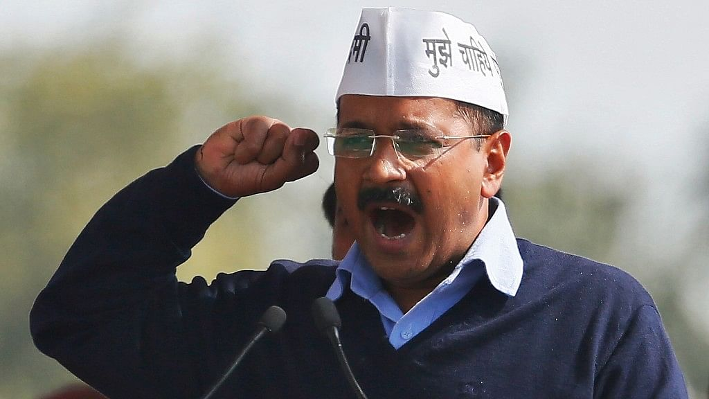 File photo of AAP chief and Delhi Chief Minister Arvind Kejriwal.