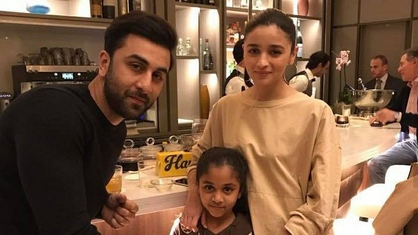 Ranbir Kapoor and Alia Bhatt in Tel Aviv.
