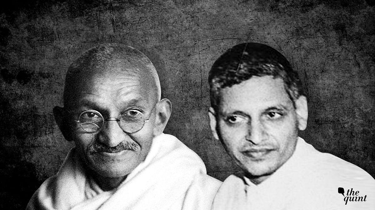 Rajyashri Choudhary worshipped a portrait of Nathuram Godse, the man who murdered Gandhi.