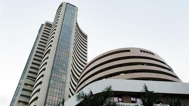 The Bombay Stock Exchange Building.