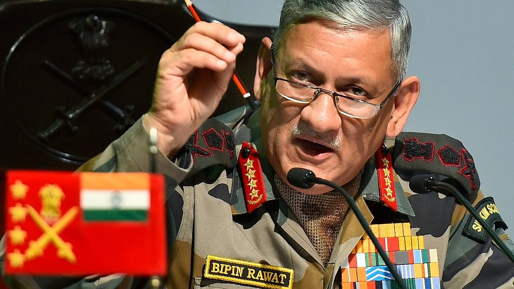 China Is Powerful, But India Is Not a Weak Nation: Bipin Rawat