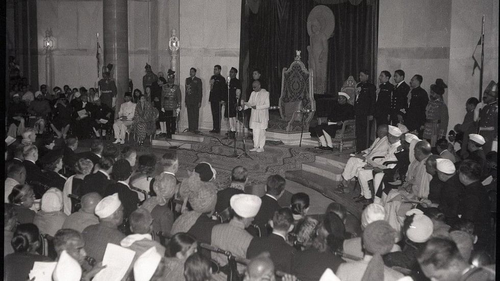 India's first Republic Day began with Rajaji proclaiming India a Sovereign Democratic Republic at the Rashtrapati Bhavan.