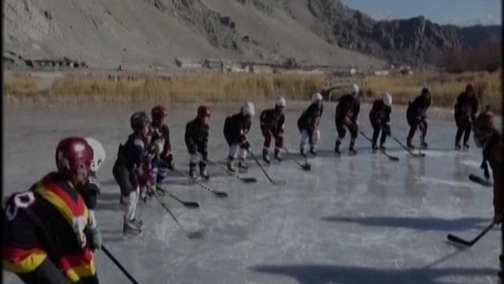 The Ladakh Women Ice Hockey Foundation is organising a free Ice Hockey camp for over 110 girls in the region.