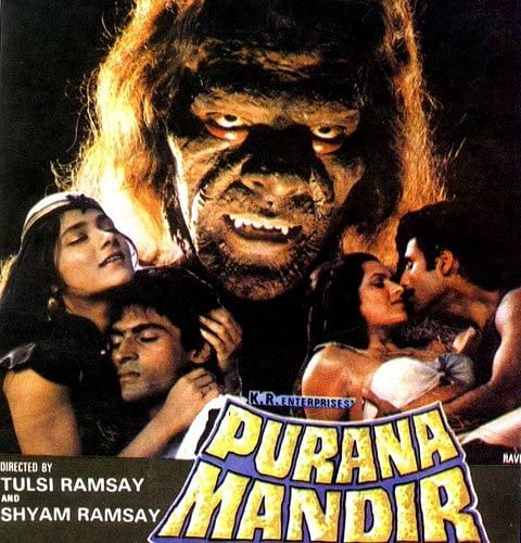 Poster for <i>Purana Mandir</i>.