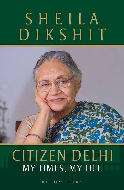 Book cover of Sheila Dikshit's biography.