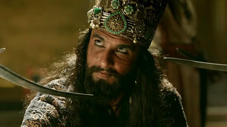 Ranveer Singh as Alauddin Khiji.