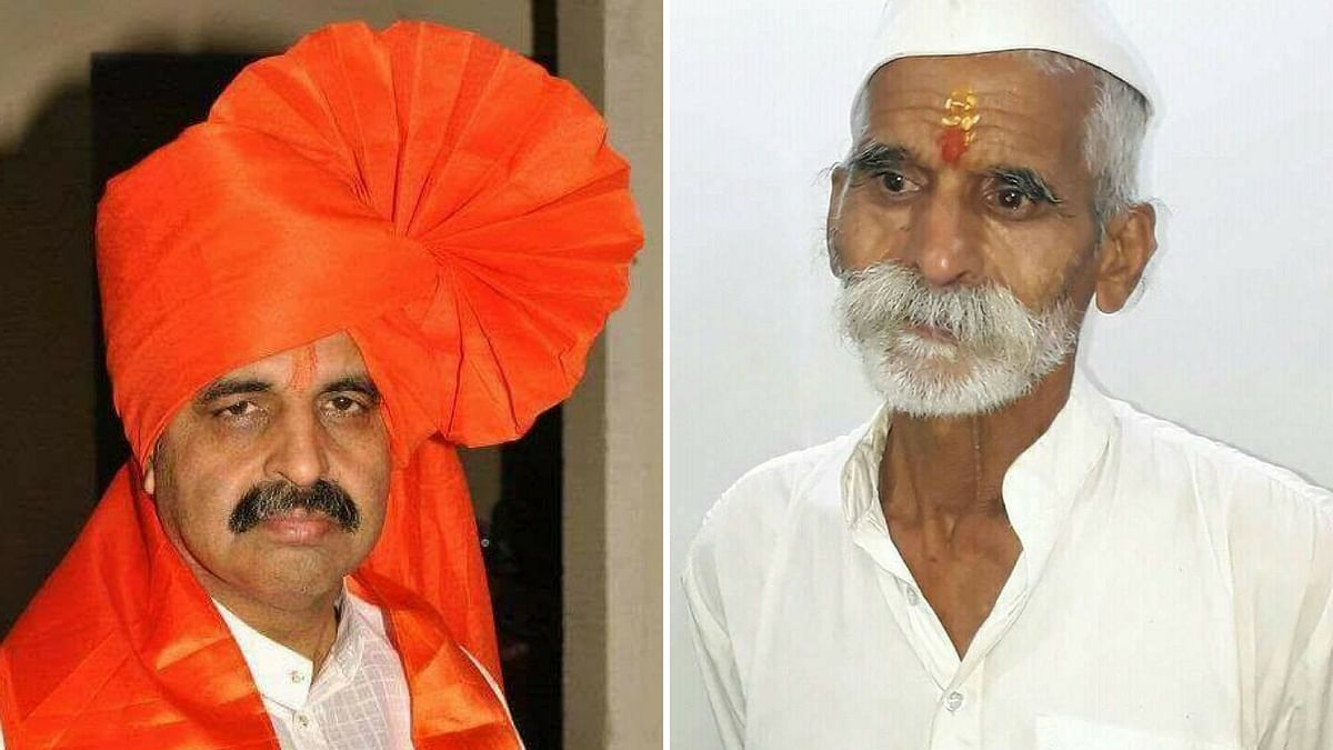 Milind Ekbote (left) and Sambhaji Bhide (right) are at the center of the violence against Dalits in Maharashtra and the ensuing chaos.