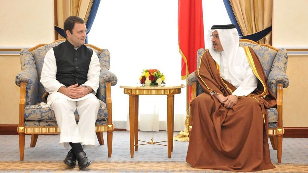 Not Jobs but Hatred Is on a Rise in India: Rahul in Bahrain