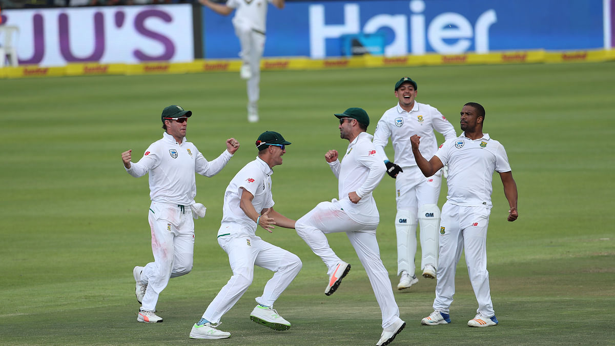 India Bowled Out for 135 by SA, Lose Series Opener by 72 Runs
