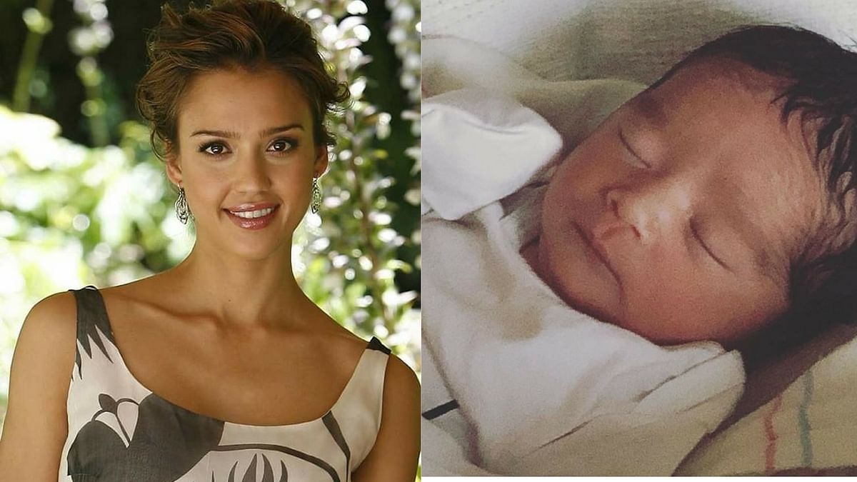 Jessica Alba Welcomes Son on New Year's Eve