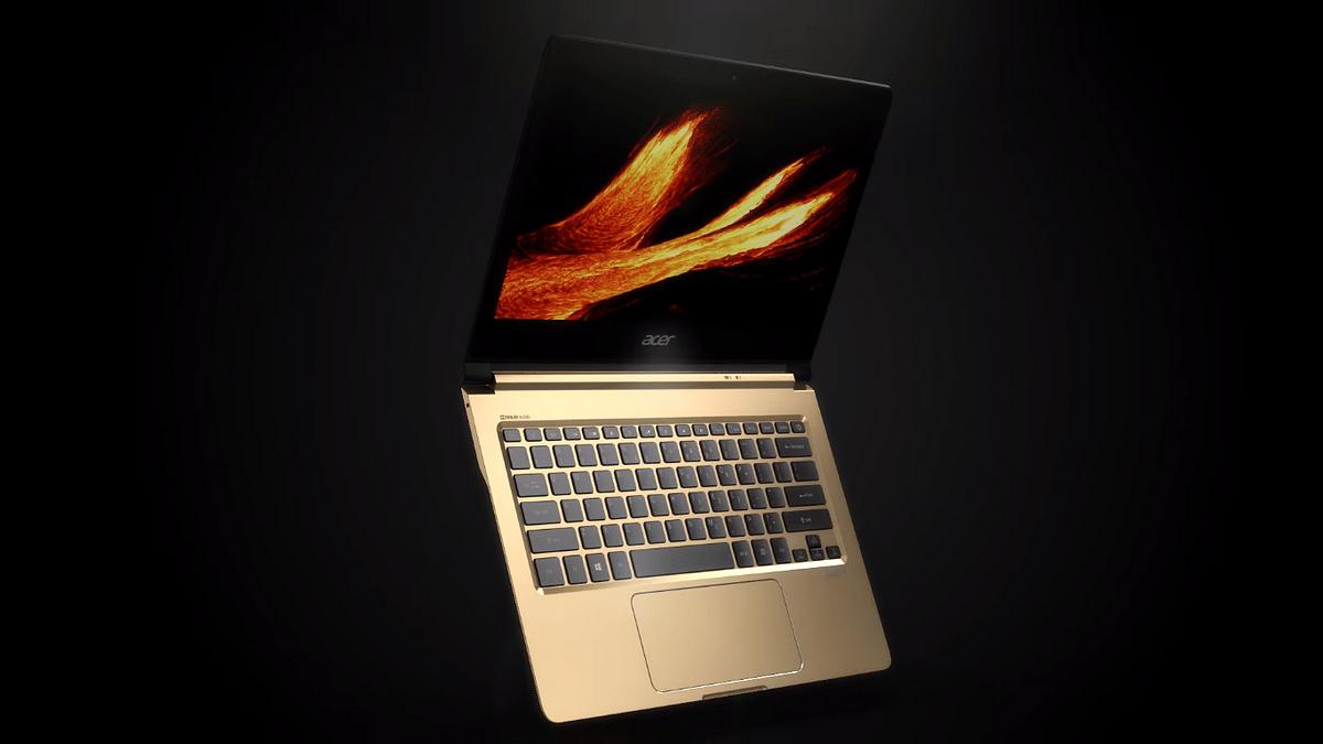 The world's slimmest laptop, Acer Swift 7.