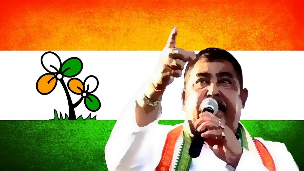 Trinamool Congress strongman, Anubrata Mandal.