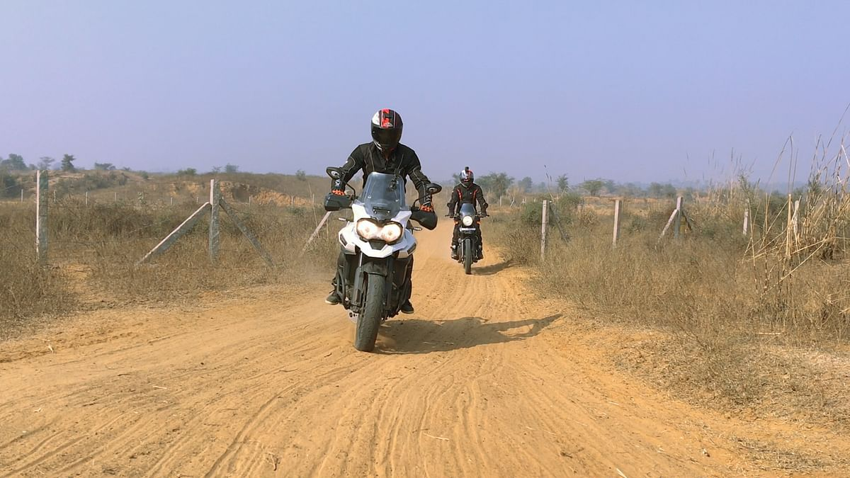 Off-Road Adventure on a Triumph Tiger Explorer & RE Himalayan