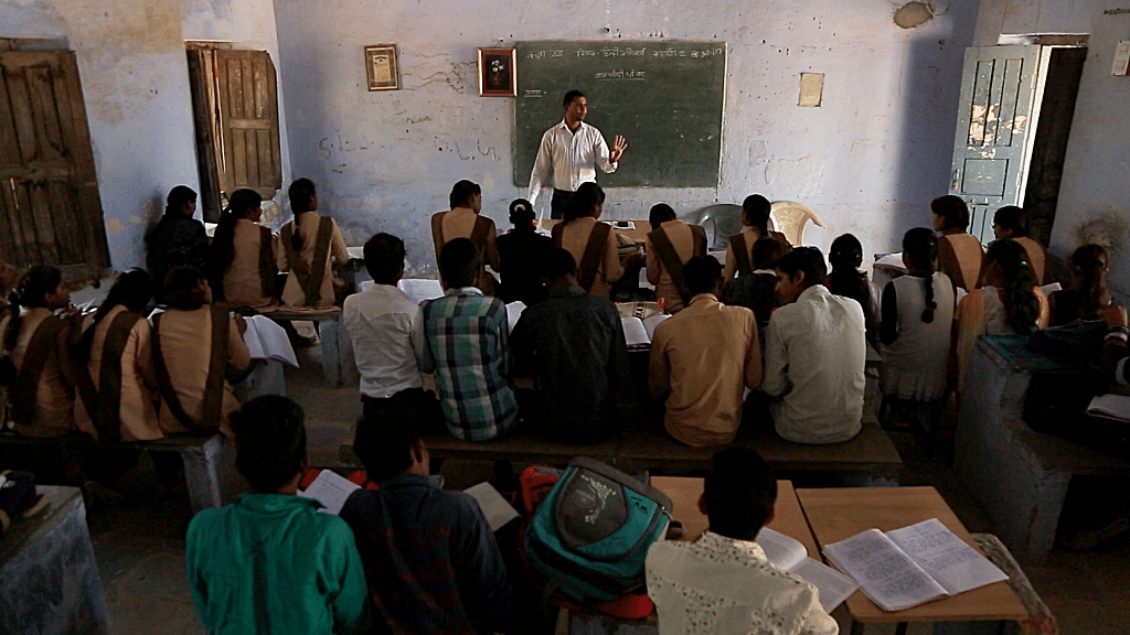 A typical classroom in the Bhadesar school. Image used for representational purpose.
