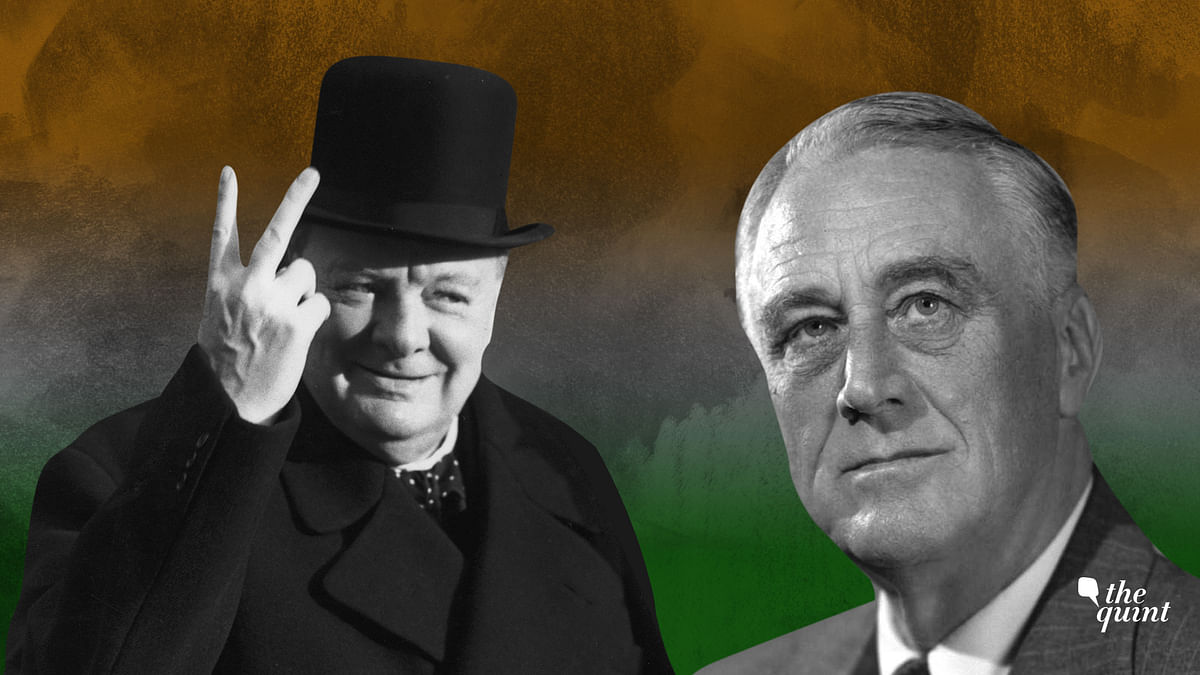 Roosevelt and Churchill tussled over liberating India from the colonial yoke.