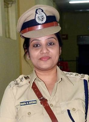 Deputy Inspector General (Prisons) Roopa D Moudgil. (File Photo: IANS)