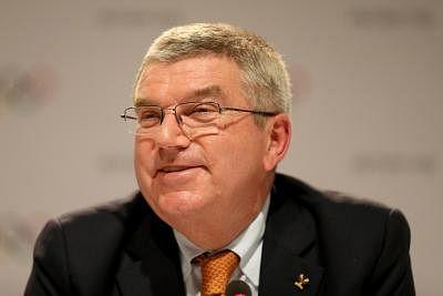 IOC President Thomas Bach. (File Photo: IANS)