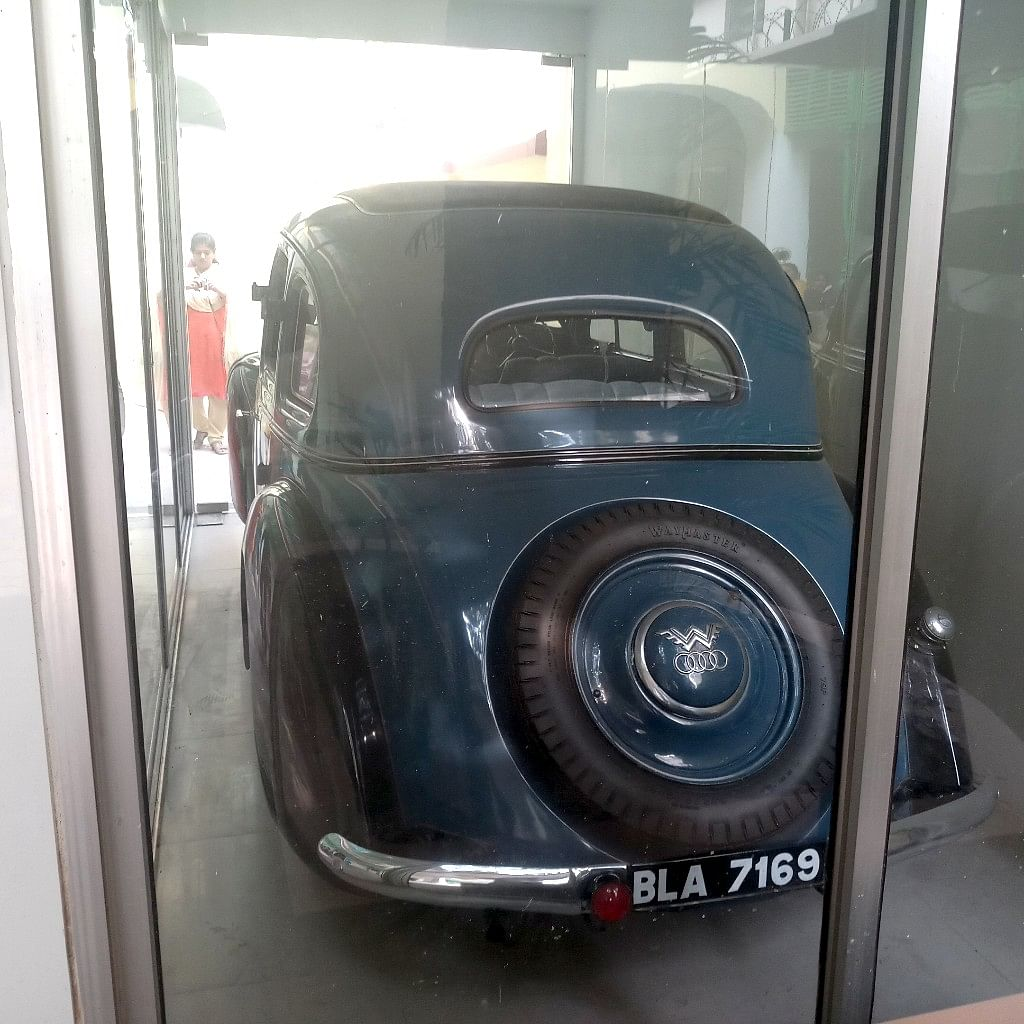 The historic car of 'The Great Escape'