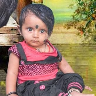 """2-year-old Tanushri fell into an open drain <span style=""""background-color: rgb(255, 255, 255); white-space: pre-wrap;"""">near Doddabommasandra in Bengaluru.</span>"""