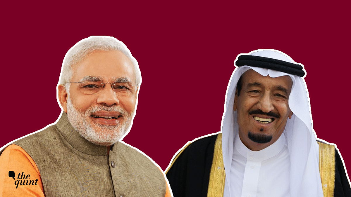 Indian Prime Minister Narendra Modi (L) and King Salman (R) who is likely to visit India later this year