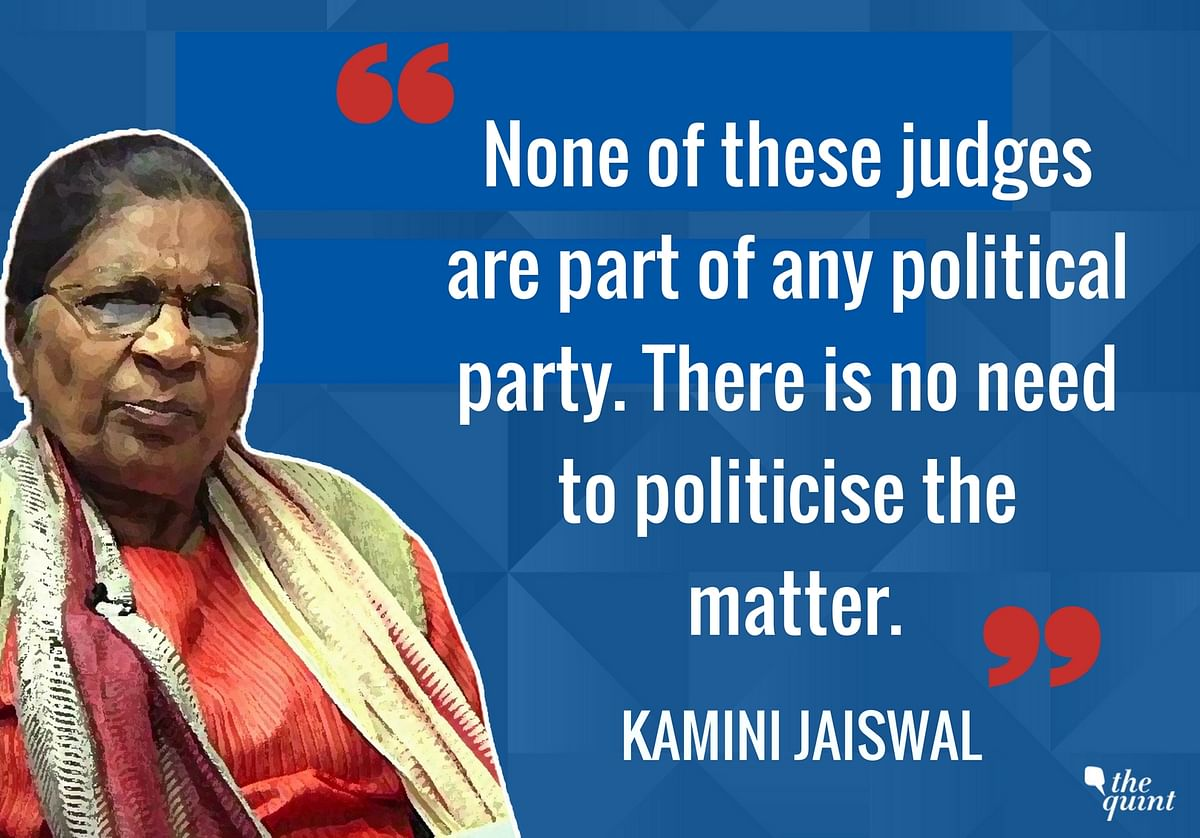 'What Option Did They Have?': Kamini Jaiswal on SC Judges' Dissent